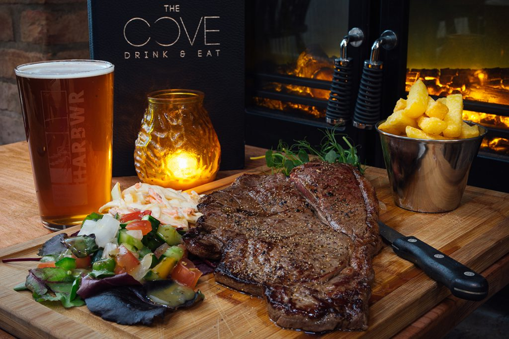 The Cove restaurant in Tenby